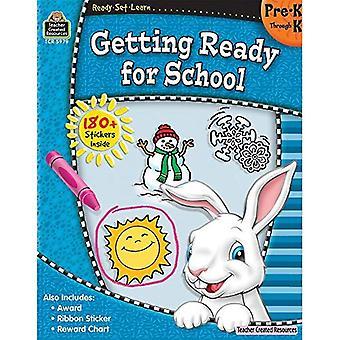 Se préparer pour l'école, Pre-K par K