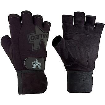 Valeo prestaties Wrist Wrap Gewichthef-handschoenen