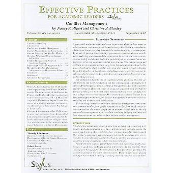 Gestion des conflits: 9e (pratiques efficaces pour chefs de file universitaires)