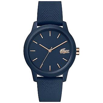 Lacoste 12.12 Women's   Navy Silicone Strap   Navy Dial   2001067 Watch