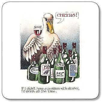 Tilpasset verk - Simon Drew enkelt Coaster - problemer med alkohol