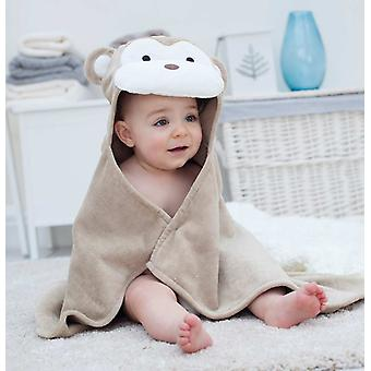 Cheeky Monkey baby towel