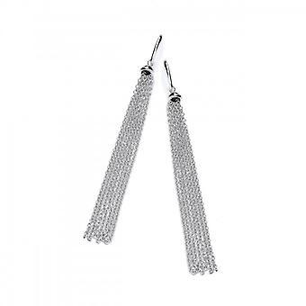 Cavendish French Silver Tassle Drop Earrings