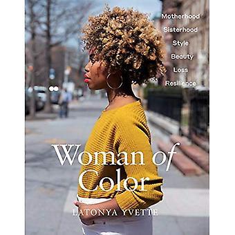 Kobieta kolor