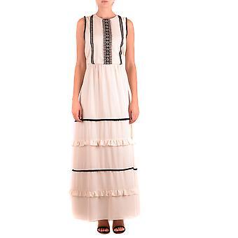 Robe Blugirl Blumarine Ezbc103031 Femmes-apos;s Beige Polyester Dress