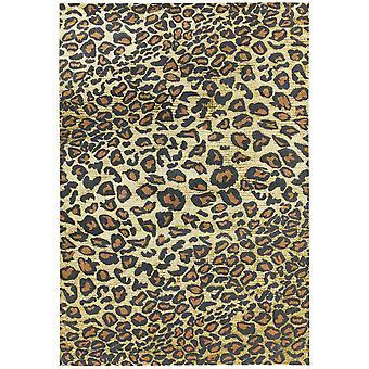 Quantum Qu01 Rugs In Leopard