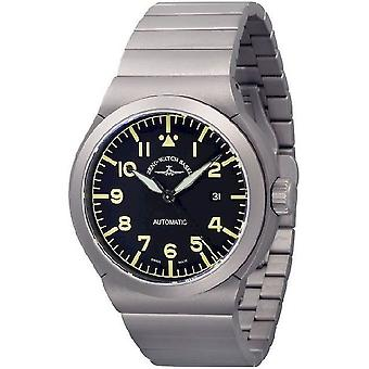 Zeno-watch mens watch RAID titanium Navigator 6454N-a19M