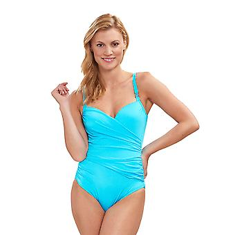 Féraud 3889504 Mulheres's Beach Costume One Piece Swimsuit