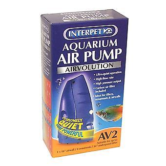 Interpet AirVolution AV2 Aquarium Air Pump