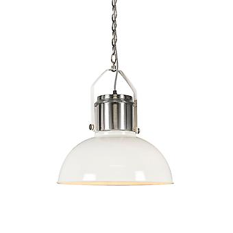 QAZQA Industrial hanging lamp white - Industrial 37