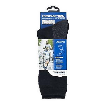 Overtreding Mens Shak Lichtgewicht Hiking Boot sokken (1 paar)
