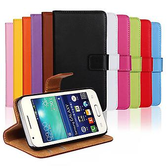 Wallet Case Galaxy Trend 2 (G313h), genuine skins