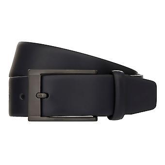 MONTI MARRAKESCH Belt Men's Belt Leather Belt Blue 8040