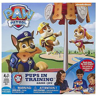 Paw Patrol Welpen im Trainingsspiel