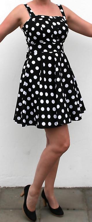 Klänning halterneck rockabilly - Summer Party Vintage Dress
