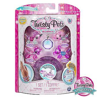Twisty Petz Babies-Unicorn och Koala Babies-lila Case