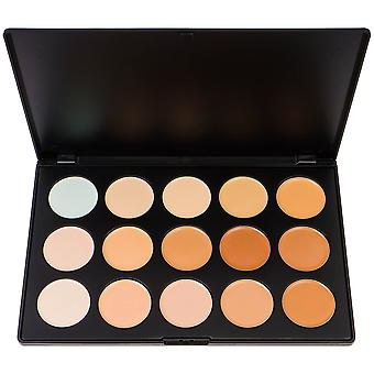 SHANY Professional Cream Foundation und Camouflage Concealer - 15 Farbpalette