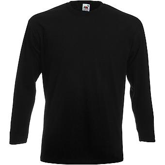 Fruit Of The Loom - Mens Super Premium Long Sleeve Tee T-Shirt