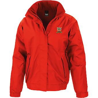 Royal Scots Dragoon Guards - Licensed British Army Embroidered Waterproof Jacket With Fleece Inner