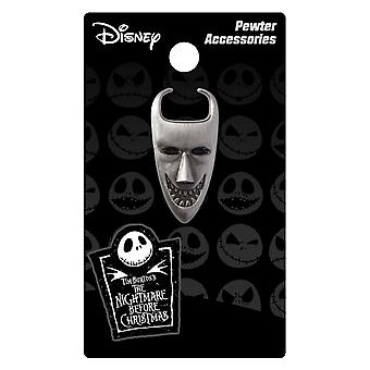 Pin - Nightmare Before Christmas - Lock Mask Pewter Lapel Licensed 26522