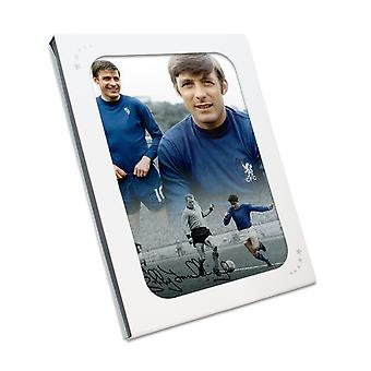 Bobby Tambling Signed Chelsea Photo In Gift Box