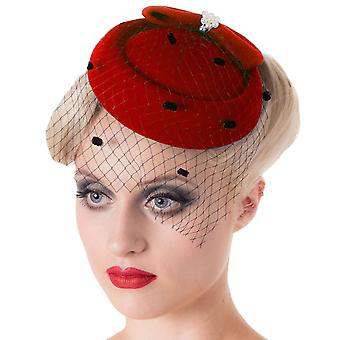 Forbudt Judy Fascinator Hat