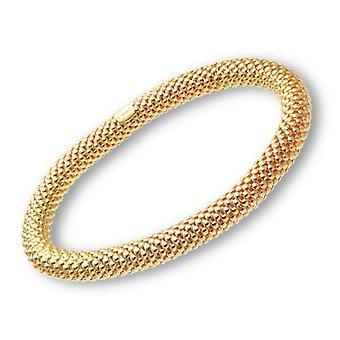 Citerna Women's Bracelet - Golden Silver - Sterling 925
