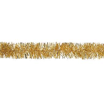 Gold Chunky Cut Extra Dense Tinsel Christmas Tree Décoration - 2m