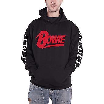 David Bowie Hoodie Rebel Rebel new Official Mens Black Pullover