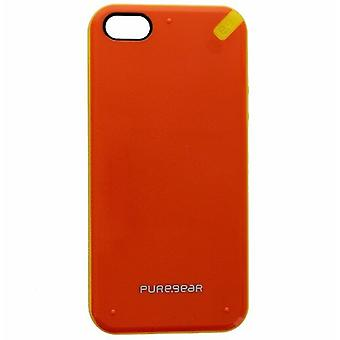 Funda PureGear Slim Shell para Apple iPhone SE / 5 / 5S - Naranja Mandarina/Amarillo