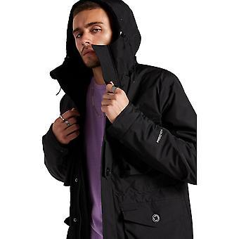 Volcom Hawstone 5K Parka Jacket in Black