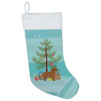 Small Greek Domestic Dog Kokoni Christmas Tree Christmas Stocking