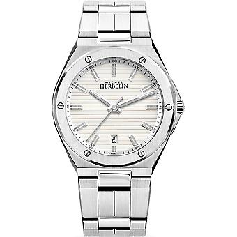 Michel Herbelin 12245-B12 Men's Cap Camarat Stainless Steel Wristwatch