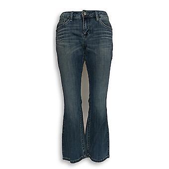 Laurie Felt Women's Petite Jeans 2 Classic Denim Boot-Cut Blue A343622