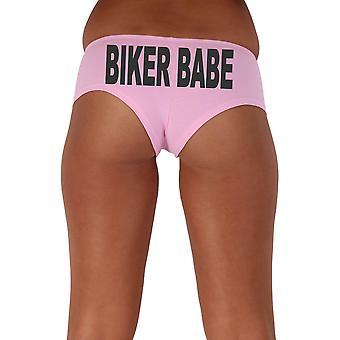 Women's Black Biker 3 Babe Booty Shorts