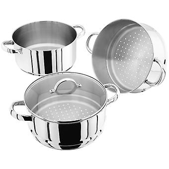 Judge Steamers, 24cm 3 Tier Steamer Set