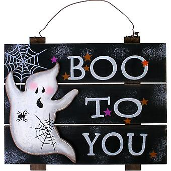 Halloween Boo Sign