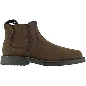 Jipes Mens Twin Gusset Softie negociante de sapatos de couro