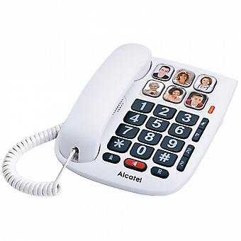 Vezetékes az idősek Alcatel TMAX 10 LED-es fehér