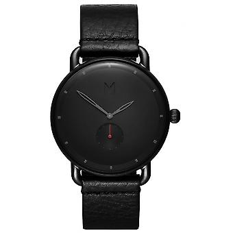 MVMT D-MR01-BBL Watch - Men's Grey Leather Watch