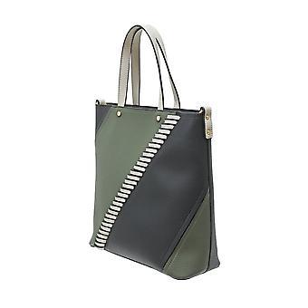 Envy Bags Envy 705 Large Grab Bag In Constant Colours Khaki