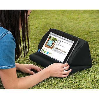 Zwarte Outdoor iPad Kindle Tablet Boek Stand Kussen Lap Rest Cushion Waterdicht