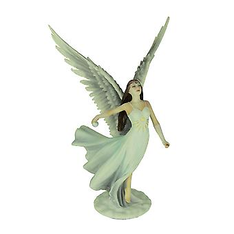 Anne Stokes Ascendance Angel Hand Painted Statue
