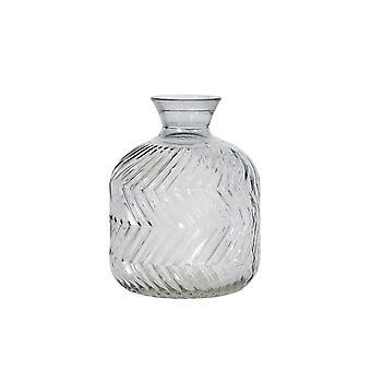 Light & Living Vase 11.5x15.5cm Praia Grey