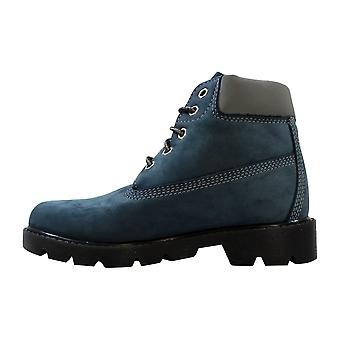 Timberland Classic 6 InchBoot China Blue/Nubuck 11700 Pre-School