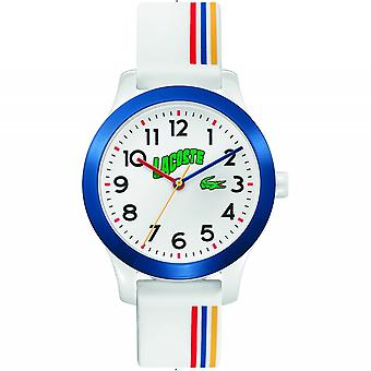 Lacoste 2030027 Children's 12.12 Striped Strap Wristwatch