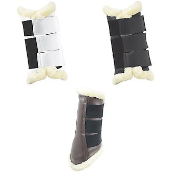 HyIMPACT Combi Faux Leather Brushing Boots