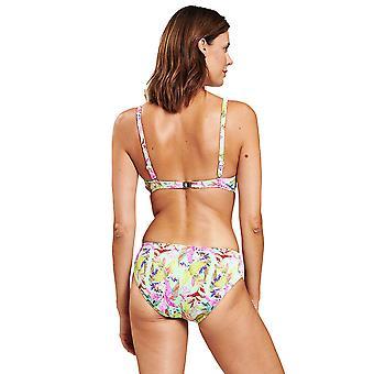1205552-16353 Femmes-apos;s Fleurs multicolores Underwired Bikini Set