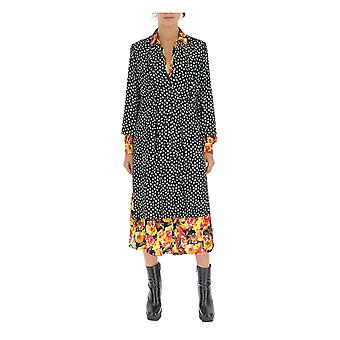 Robe en coton multicolore Junya Watanabe Jd00080511