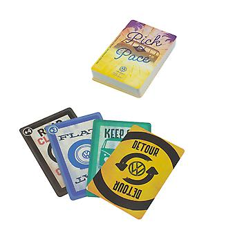 VW Pick Up the Pace con licencia oficial Volkswagen Face-Paced Fun Card Game